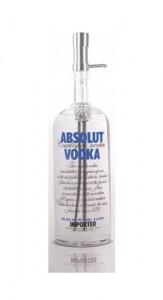Absolut Vodka Pumpe für 4.5 Liter Flasche